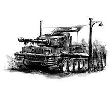 Tiger Heavy Tank Photographic Print