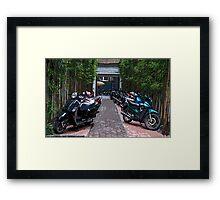 2 Wheels Hanoi Framed Print