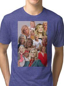 Leslie Knope Tile Tri-blend T-Shirt