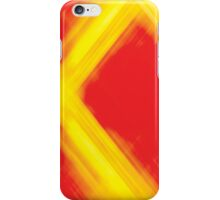 Abstract Fire iPhone Case/Skin