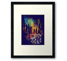 leaving rapture Framed Print