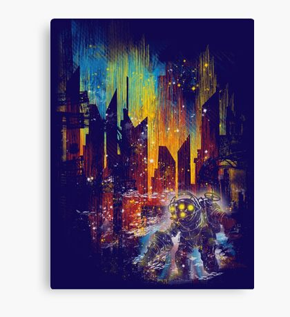 leaving rapture Canvas Print