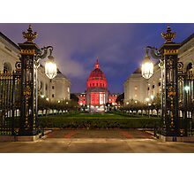 San Francisco Night Scene Photographic Print
