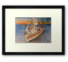 Becalmed Framed Print