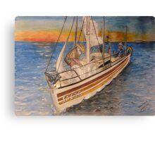 Becalmed Canvas Print