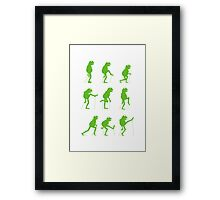 Ministry of Silly Muppet Walks Framed Print