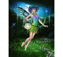 Faerie Glimmers in the Night Photographic Print