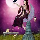 The Mystic Allure of Raven and Moon by Brandy Thomas