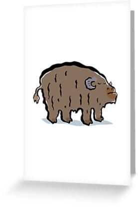 musk ox by greendeer