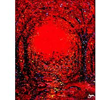 The Arches in Red Photographic Print