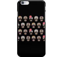 Sugar Skull 5 Design Repeat iPhone Case/Skin