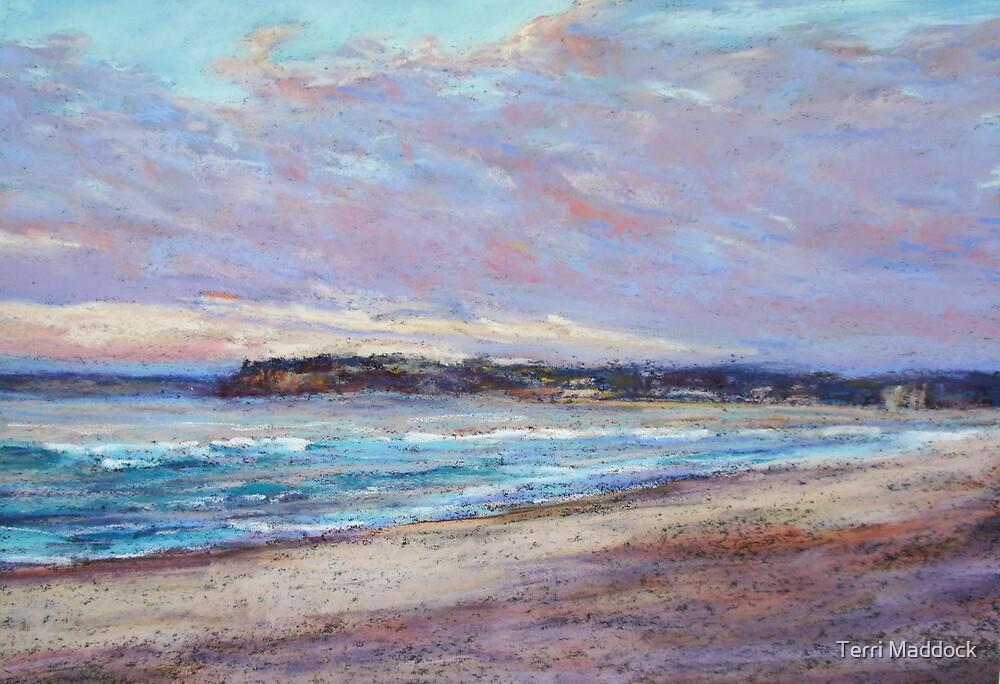 Long Reef - sunrise by Terri Maddock