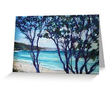 Seal Rocks, NSW mid north coast Greeting Card