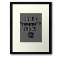 Franklin in Everyone Framed Print