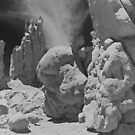 Rock Formations Near Keyenta, Arizona, USA by Adrian Paul