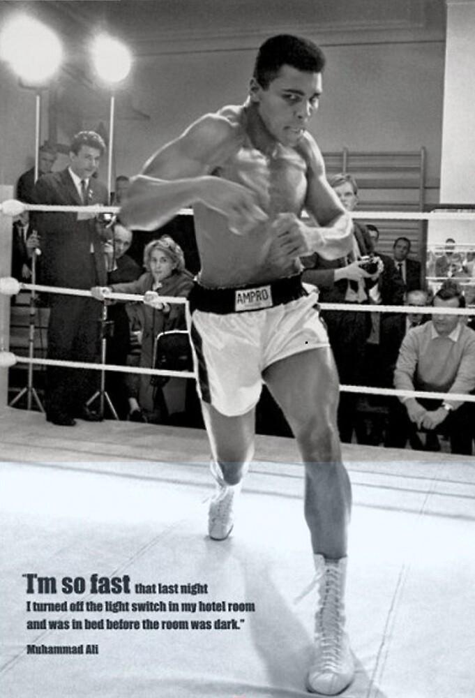 Muhammad Ali Poster by Albert  Robbins