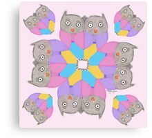 Owl be Seeing You – Art by Blythe Ayne Canvas Print