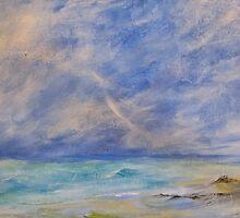 Sea moods by Linda Ridpath