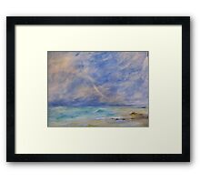Sea moods Framed Print