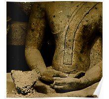 Torso in Meditation Poster
