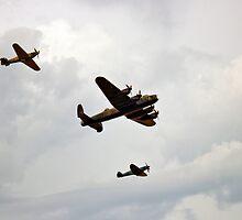 Battle Of Britain Memorial Flight by Paul Madden