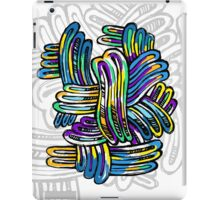 Abstract elements iPad Case/Skin