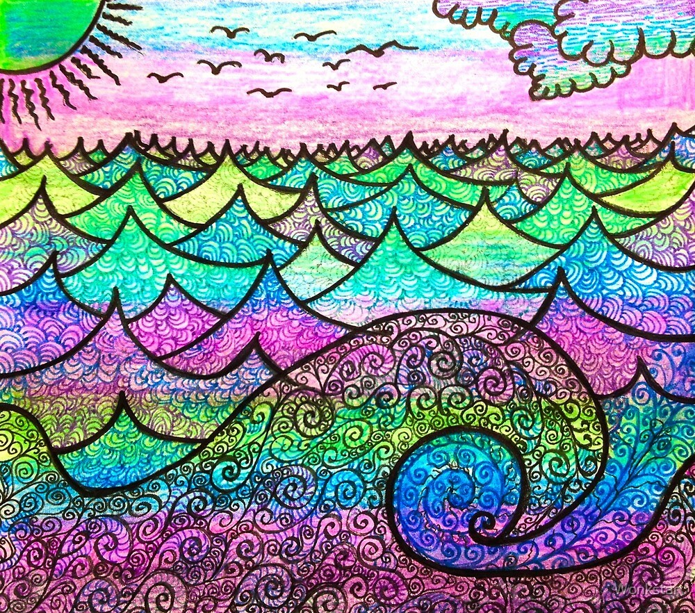 Colours and Waves.. by Wonkstar