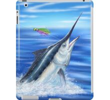 Black Marlin iPad Case/Skin