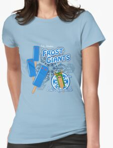 Tasty Frost Giants Womens Fitted T-Shirt