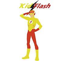 Kid Flash Photographic Print