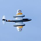 Gloster Meteor at the Southport Air Show by Paul Madden