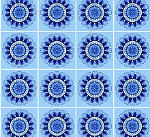 Blue Mandala by Scott Mitchell