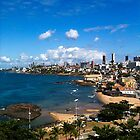 Beach in Salvador / Brazil [ iPad / iPod / iPhone Case ] by Mauricio Santana