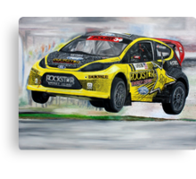 Tanner Foust RallyCross Limited Edition Print A2 Canvas Print
