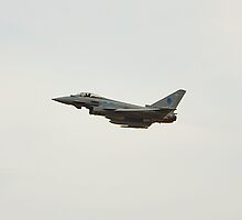 Typhoon Eurofighter at the Southport air show by Paul Madden