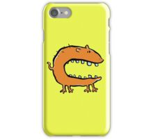 hungry animal iPhone Case/Skin