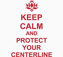 Protect your center line (heart line). Unisex T-Shirt