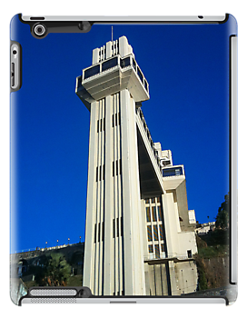 Elevador Lacerda II / Salvador - Brazil [ iPad / iPod / iPhone Case ] by Mauricio Santana