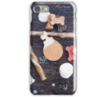 Dogfood sticks, little bones and other dog treats iPhone Case/Skin