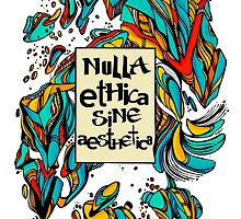 Nulla Ethica Sine Aesthetica - Colour by saotorpez