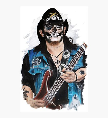 Lemmy Photographic Print