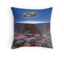 Altar Of The Twelve Gods Throw Pillow