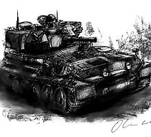 Scorpion Light Tank CVRt by olivercook