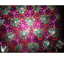 Kaleidoscope 3 Photographic Print