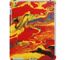 Red Retro  iPad Case/Skin