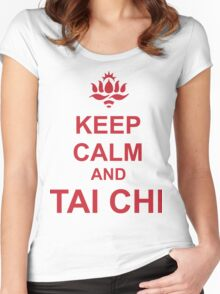 Tai Chi Women's Fitted Scoop T-Shirt