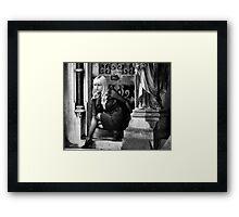 Gothic Beauty Framed Print