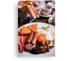 Irish Breakfast Canvas Print
