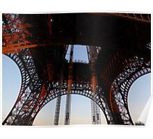 How to appreciate the Eiffel Tower? Poster