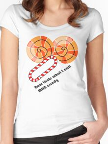 Man Candy Women's Fitted Scoop T-Shirt